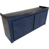 R&J Enterprises Black Oak Empire Cabinet for Glass Aquariums, 72.75