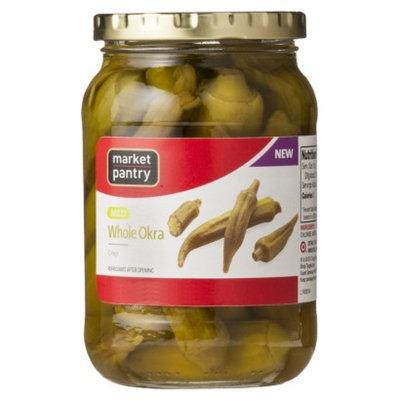 market pantry Market Pantry Mild Whole Okra 16 oz