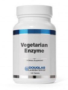 Douglas Labs Vegetarian Enzyme 120 tabs