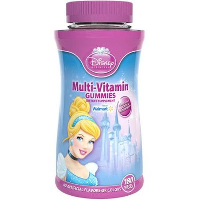 Disney Princess Multivitamin Gummies (Character will vary), 180 count