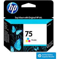 HP 75 Inkjet Cartridge - Tri-color (CB337WN#140)