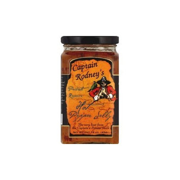 Captain Rodney's Pirates Reserve Hot Pepper Jelly - 16 oz(Pack of 12)