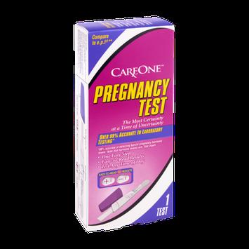 CareOne Pregnancy Test