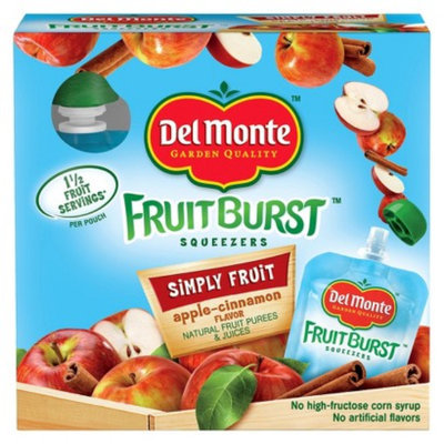 Del Monte® Del Monte Apple Cinnamon Fruit Burst Squeezers