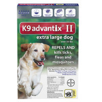 K9 AdvantixA II Flea & Tick Dog Treatment