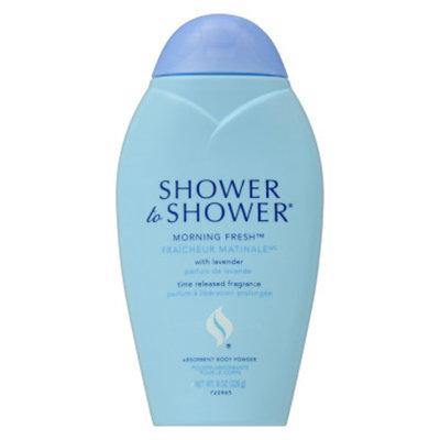 Shower To Shower Body Powder - Morning Fresh, 8 oz