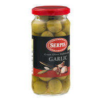 Serpis Green Olives Stuffed With Garlic