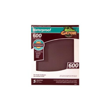 Ali Industries 5PK 9x11 600G Sandpaper