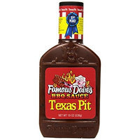 Famous Dave's BBQ Sauce Texas Pit, 19-Ounce (Pack of 6)