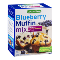 Concord Foods Blueberry Muffin Mix