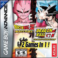 Atari DBZ Buu's Fury/ DBGT Transformation 2 in 1