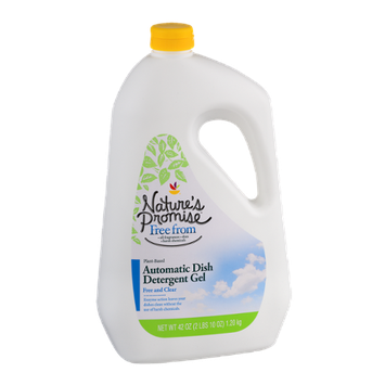 Nature's Promise Automatic Dish Detergent Gel Free And Clear