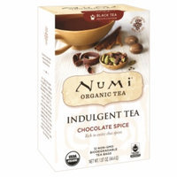 Numi Organic Tea Indulgent Tea, Chocolate Spice, 12 ea