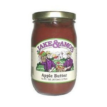 Jake & Amos Hot Bread & Butter Pickle Chips - Case of 12 Jars