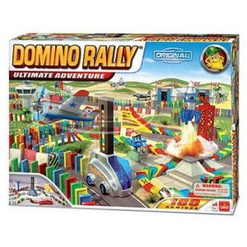 Goliath Games Domino Rally Ultimate Adventure Ages 6+, 1 ea