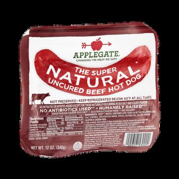 Applegate Beef Hot Dog Uncured Natural