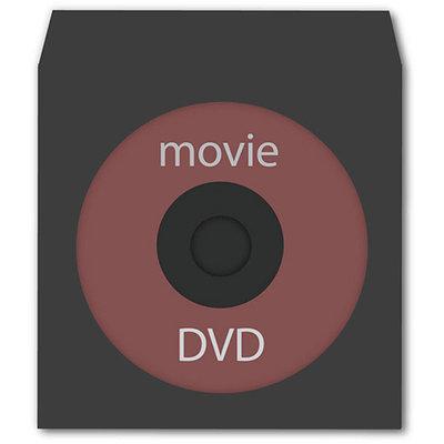Digital Interactive TekNmotion 50 Single CD/DVD with Clear Window, Black