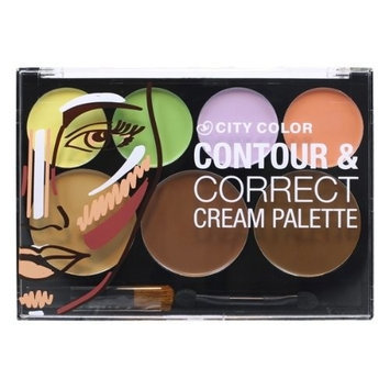 City Color Contour&correct Cream Palette