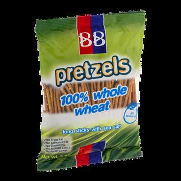BB Pretzels 100% Whole Wheat Long Sticks