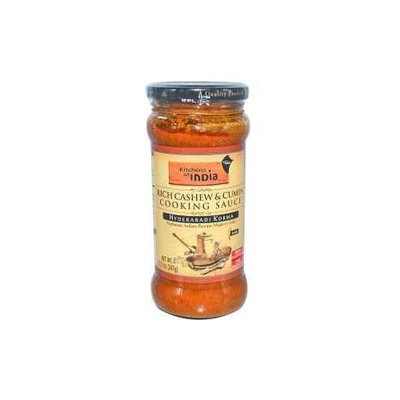 Kitchen Of India Kitchens Of India Hyderabad Korma - Rich Cashew and Cumin Cooking Sauce, 12.2 Ounce -- 6 per case.