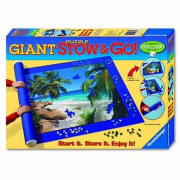 Ravensburger Giant Puzzle Stow & Go! Ages 13+, 1 ea