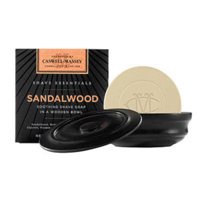 Caswell-massey Caswell-Massey Sandalwood Soothing Shave Soap In A Wooden Bowl