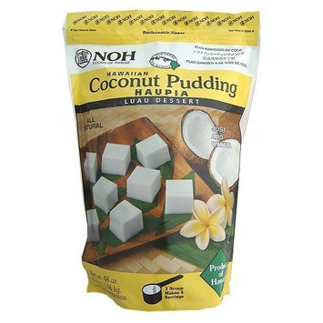 Zero Gravity Hawaii Hawaiian Haupia Coconut Pudding 3lb Resealable Bag (100 Servings)