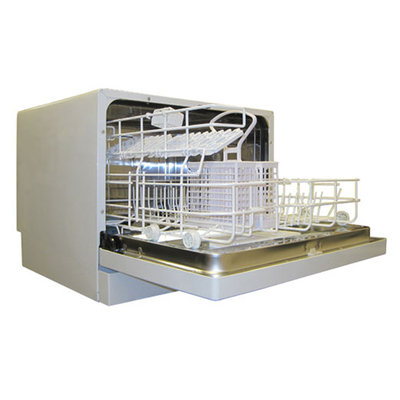 Sunpentown SD-2201W Countertop Dishwasher in White