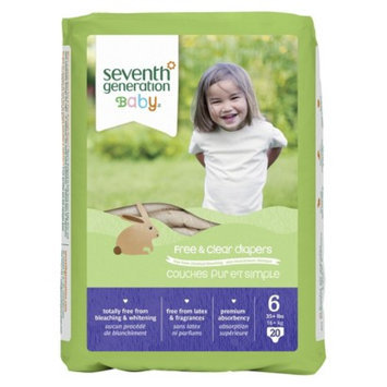 Seventh Generation Baby Diapers - Size 6 (80 Count)