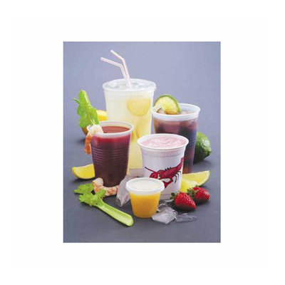 FABRI-KAL 14 Oz Drink Cups in Clear