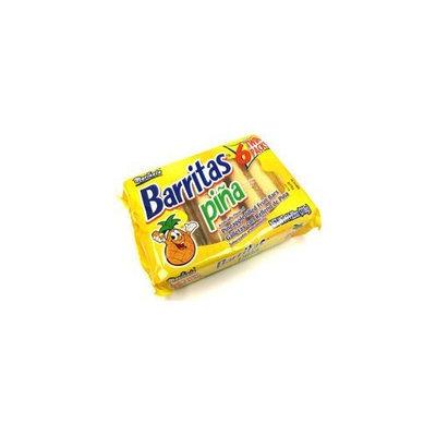 Marinela Barritas de Pina - Pineapple Filled Fruit Bars - 6 Twin Packs 11.22 oz