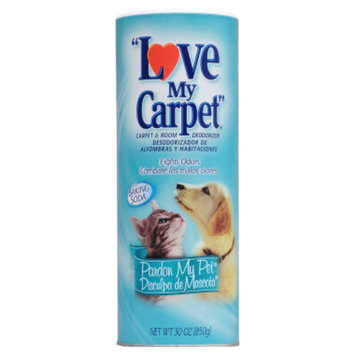 Love My Carpet Deodorizer - Pardon My Pet, 30 oz