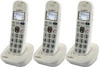 Clarity D702HS (3-Pack) Amplified Additional Handset Cordless Phone