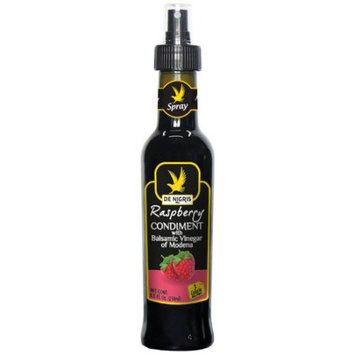 Generic De Nigris Raspberry Vinegar with Balsamic Vinegar of Modena, 8.5 fl oz