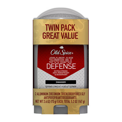 Old Spice Sweat Defense Swagger Invisible Solid Antiperspirant/Deodorant