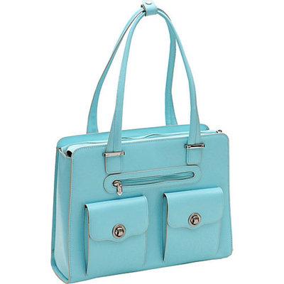 McKlein USA Verona - Ladies' Fly-Through Checkpoint-Friendly Laptop Briefcase
