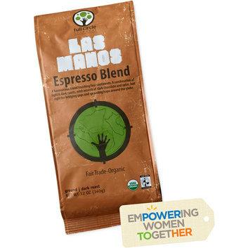 Full Circle Exchange Las Manos Espresso Blend Dark Roast Ground Coffee
