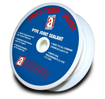 POLY-TEMP 28314 Joint Sealant Ribbon,1/2 In. W,150 Ft. L
