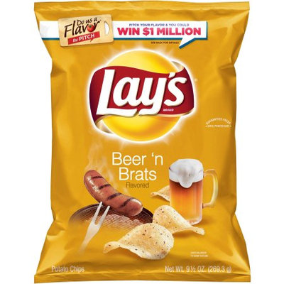 LAY'S® Beer 'N Brats Flavored Potato Chips