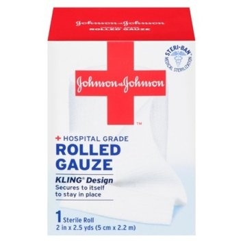 Johnson & Johnson Hospital Grade Rolled Gauze