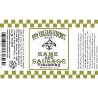 New Orleans Gourmet Game and Sausage Seasoning