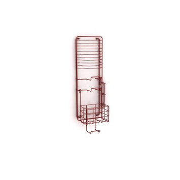 Atlantic Wall Mount Game Rack (38806137) - Red
