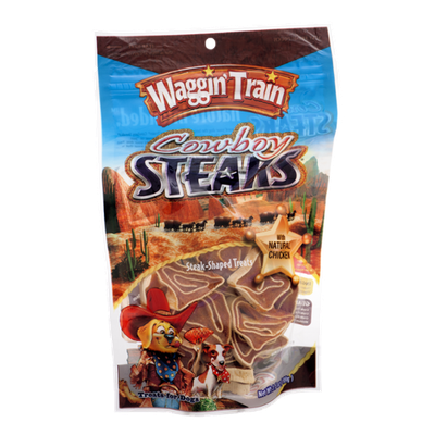 Waggin' Train Cowboy Steaks Treats for Dogs