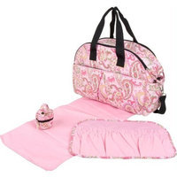 The Bumble Collection Erica Carryall, Pink Paisley
