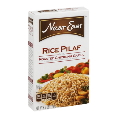 Near East Rice Pilaf Mix Roasted Chicken & Garlic