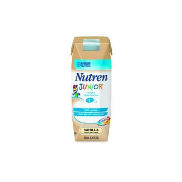 Nestlé NUTREN JUNIOR Vanilla Brikpaks 24 x 250 mL Case
