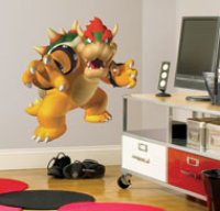 Global Holdings Inc Bowser Peel & Stick Wall Decal