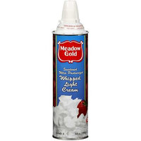 Meadow Gold Light Whipped Cream, 14 oz