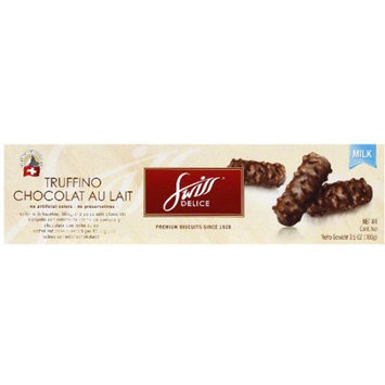 Swiss Delice Truffino Chocolat Au Lait Biscuits, 3.5 oz (Pack of 10)