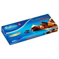 Bahlsen B76425 Bahlsen Dark Chocolate Dipped Wafer Rolls -12x3.5oz
